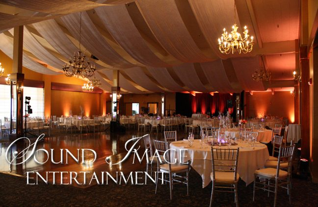 Arden Hills Gold Room - Wedding Lighting