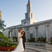 Dave and Kalisha's Sacramento LDS Wedding