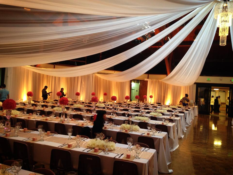 Sacramento draping sacramento wedding drapes ceiling draping lighting draping packages starting as low as 695 discounts available when combined with dj or photo booth services junglespirit Choice Image